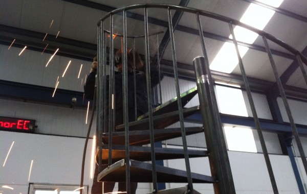 Escalera de caracol – Particular