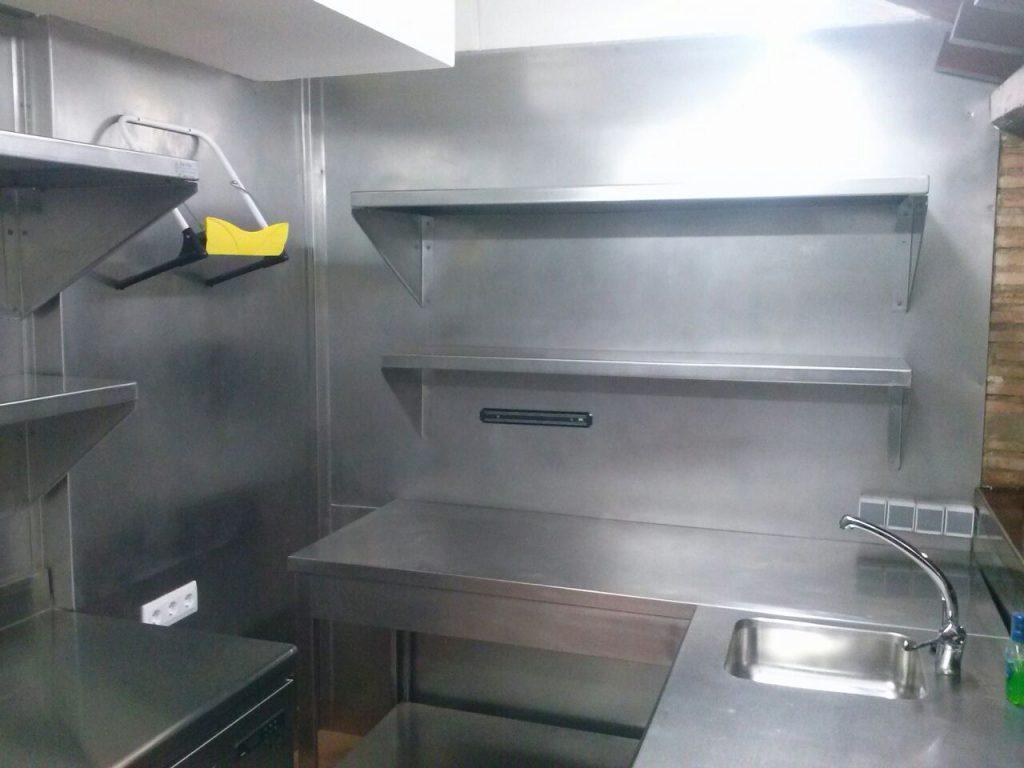 cocina acero inoxidable hoseleria mueble a medida cuenca iferronox ferrocoqnuense