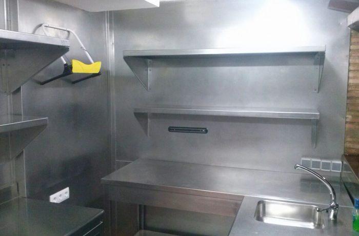 Cocina industrial – Nazareno y Oro