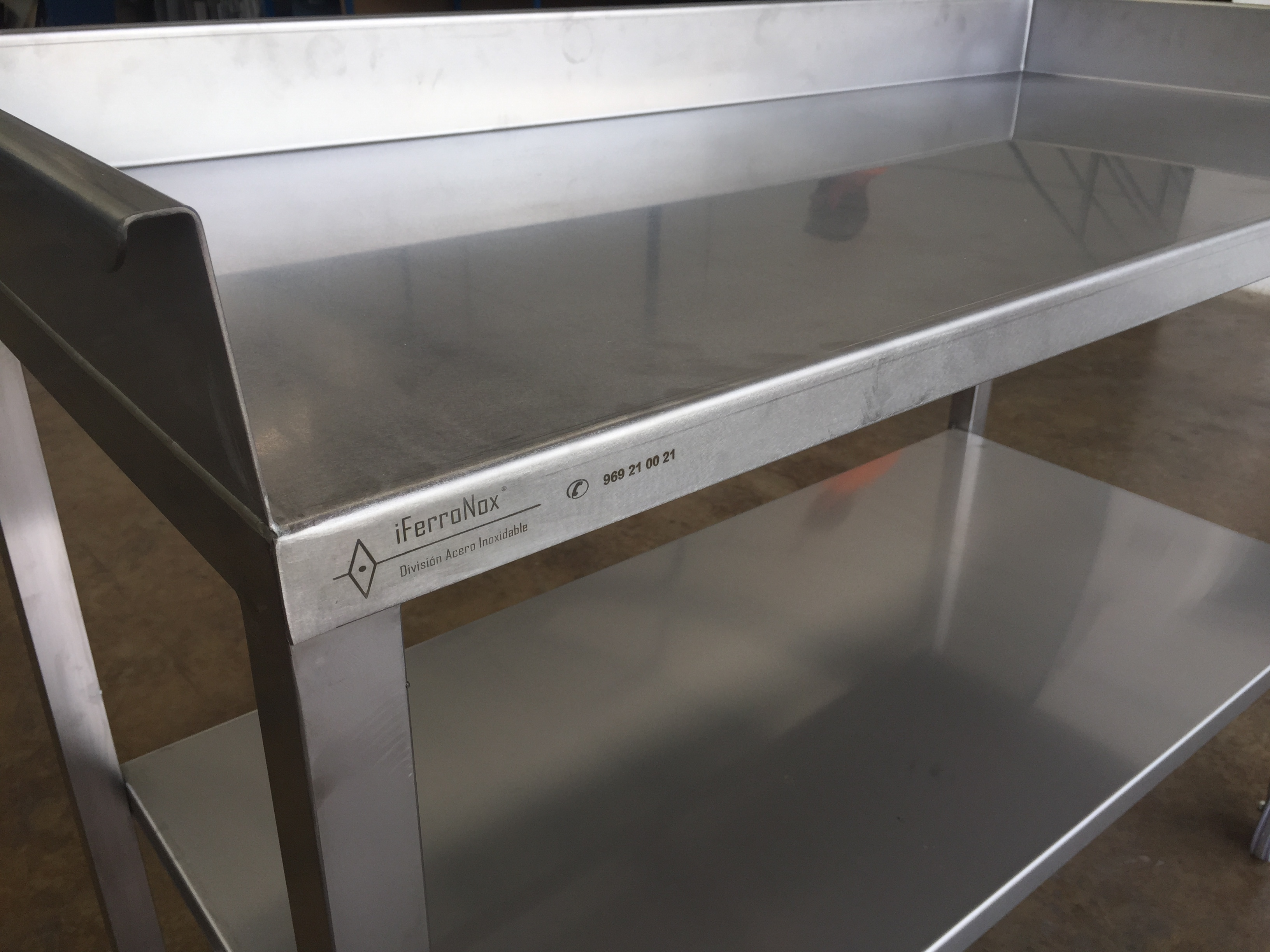 Mesas de acero inoxidable de segunda mano 47807 mesas ideas - Mesa cocina segunda mano ...