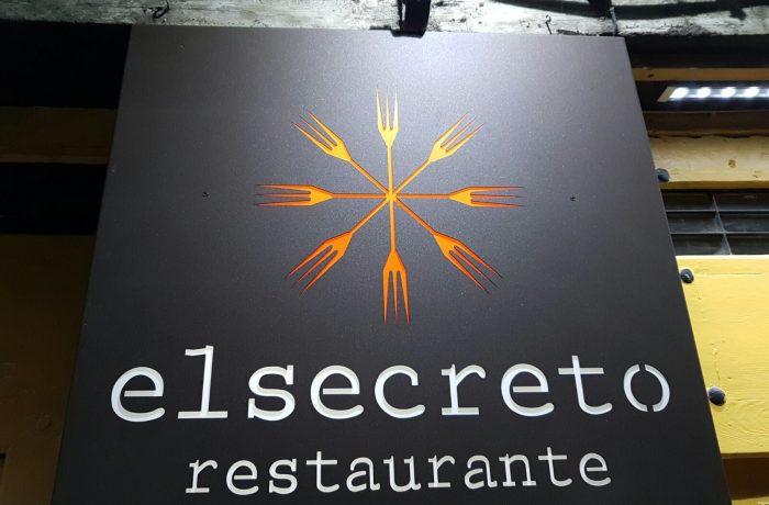 Rótulos Restaurante El Secreto